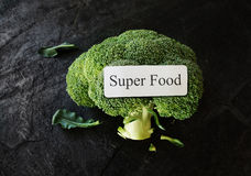 Super Food Concept Royalty Free Stock Images