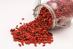 Super-food Goji Berries Stock Photo
