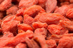 Super-food Goji Berries Stock Photography
