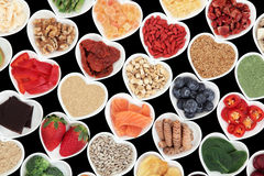 Super Food for Good health Royalty Free Stock Photos