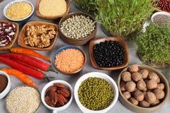 Healthy organic food royalty free stock photos