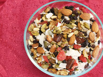 Super Fruit and Nut Mix Royalty Free Stock Images