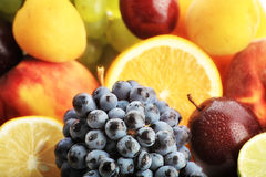 Super fruits Stock Images