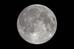 Super Full Moon. June 23, 2013 Stock Photos