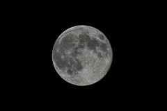 Super Full Moon Royalty Free Stock Images