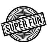 Super Fun rubber stamp Stock Photos