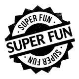 Super Fun rubber stamp Stock Image