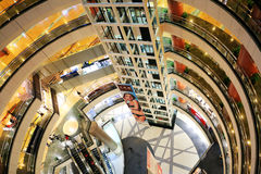 Super gatunku centrum handlowe, Szanghaj obrazy royalty free