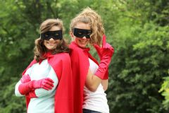 Super girl Royalty Free Stock Photography