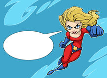 Super girl Stock Photo