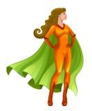 Super girl Stock Photo
