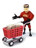Super go shopping Stock Images
