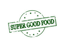 Super good food. Rubber stamp with text super good food inside,  illustration Stock Photo