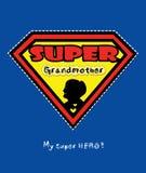 Super grandmother  Stock Photos