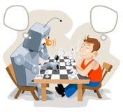 super gry szachowej wektory Zdjęcie Royalty Free