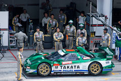 Super GT Championship Royalty Free Stock Image