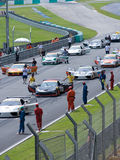 Super GT Championship Royalty Free Stock Images