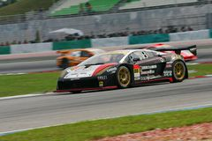 Super GT Championship in action Royalty Free Stock Photography