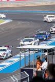 Super GT Final Race 66 Laps at 2015 AUTOBACS SUPER GT Round 3 BU. BURIRUM, THAILAND - JUNE 21 : Super GT Final Race 66 Laps at 2015 AUTOBACS SUPER GT Round 3 Royalty Free Stock Image