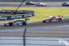 Super GT Final Race 66 Laps at 2015 AUTOBACS SUPER GT Round 3 BU Royalty Free Stock Images