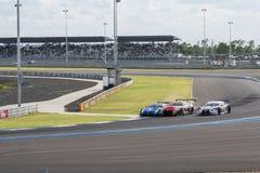 Super GT Final Race 66 Laps at 2015 AUTOBACS SUPER GT Round 3 BU Stock Images