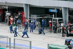 Super GT International Series in Sepang, Malaysia Royalty Free Stock Image