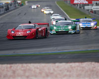 Super GT race starts Royalty Free Stock Images
