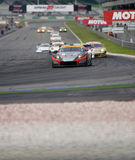 Super GT race starts Royalty Free Stock Photo