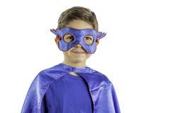 Super héroe del niño Fotografía de archivo libre de regalías