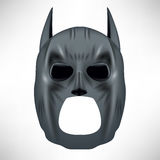 Super héroe Grey Mask Fotografía de archivo
