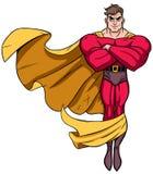 Super héroe que vuela 3 Imagen de archivo libre de regalías