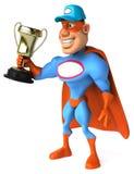 Super héros d'amusement Photo stock