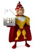 Super héros d'amusement Photographie stock