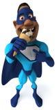 Super héros d'amusement Images libres de droits