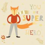 Super héros de Fox illustration libre de droits