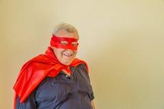 Super héros de sourire Image stock