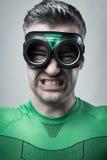 Super héros fâché photographie stock libre de droits
