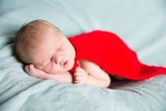 Super héros nouveau-né de bébé Photo stock