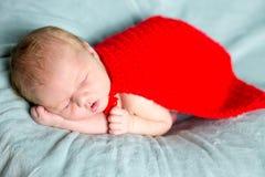 Super héros nouveau-né de bébé Images stock