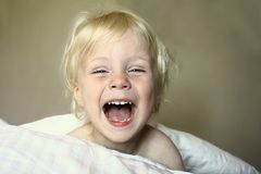 Super Happy Boy Royalty Free Stock Images