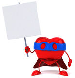 Super heart Stock Images