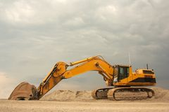 Super heavy duty Excavator Royalty Free Stock Photos