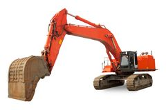 Super heavy duty Excavator Royalty Free Stock Image