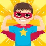 Super Heldenjongen royalty-vrije illustratie