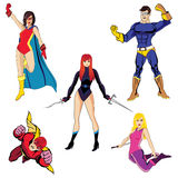 Super-herói #2 Fotografia de Stock