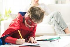 Super-herói criativo imagem de stock royalty free
