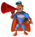 Super-herói do divertimento Foto de Stock Royalty Free