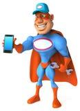 Super-herói do divertimento Imagem de Stock Royalty Free