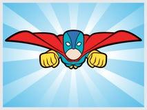 Super-herói do voo Foto de Stock Royalty Free