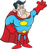 Super-herói dos desenhos animados ilustração do vetor